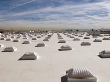 dach przemysłowy
